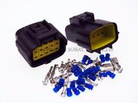 10 Pin 1.8mm macho y hembra impermeable conector eléctrico de enchufe para VW, Audi, etc.
