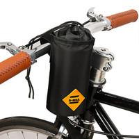 1 Pcs Isolamento Ciclismo Chaleira Titular Poush Saco de Bicicleta Frente Guiador Pendurado Garrafa De Água Saco de Bicicleta Acessório