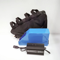 52V Dreieck Batteriepack 52V 23AH ebike Batterie für ebike Eroller 30A BMS 1000w ebike Motor kits und 5A Ladegerät