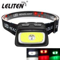 Portable mini COB+ XPE LED Headlamp Outdoor camping Fishing h...