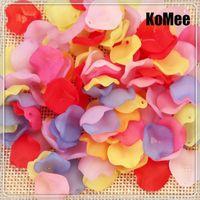 Mezcle Color 1000pcs / lot Multicolor 10 * 14mm Charm DIY Hallazgos de joyería de bricolaje Acrílico de plástico Color de caramelo Flor Spacer Beads Envío gratis