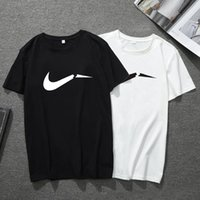 2019 Brand Fashion Luxury Designer Fashion Classic Uomo T-shirt Cotton Mens Designer T-shirt Bianco Nero Designer Polo uomo XS-5XL