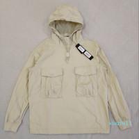 패션 - 19SS 639F2 유령 PIECE 작업복 / 아노락 COTTON NYLON TELA 풀오버 자켓 남성 여성 코트 패션 겉옷 HFLSJK349