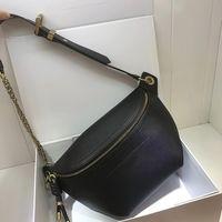 женская кожаная сумка на ремне, нагрудные сумки ведущих брендов с дизайнерскими наплечными сумками, модными досугами, женскими сумками, регулируемыми ремнями, сумка 2019
