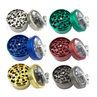 4 Layers 63*60mm Zinc alloy Herb Grinder Hand Smoke Grinder ...