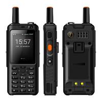 알프스 F40 젤로 워키 토키 휴대 전화 IP65 방수 견고한 스마트 폰 MTK6737M 쿼드 코어 안드로이드 키보드 기능 전화