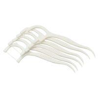 300pcs / pack flosser dentale intesto spazzola a spazzola denti Stickpicks filo floss plastica Dente prelievi in nylon set di utensili filo