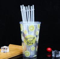 Самая дешевая !!! Цветные многоразовый питьевой соломинки AS пластиковые соломинки 9 дюймов 230cm прямо кухня, столовая, бар SN1428