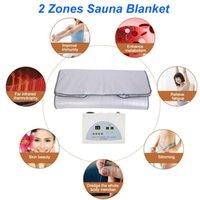 Uzak Kızılötesi Sauna Battaniye Ince Çanta Çam Isıtma Battaniye Vücut Zayıflama Kilo Kaybı Vücut Detoks Makinesi Salon için