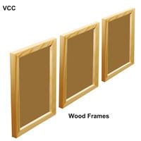 3Pcs / Set Cadre En Bois Photos Cadres Photo A4 20X30 30X40cm Plexiglass Inclure Cadre Affiche Pour Tenture Mur Certificat