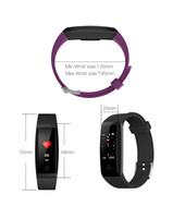 W8 OTA Automatische Pulsmesser Smart Armband Schrittzähler Tracker Smart Watch Farbe Bildschirm Smart Armbanduhr Für iPhone iOS Android Uhr