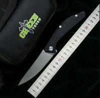 ЗЕЛЕНЫЙ ШИП SIGMA mrbs D2 лезвие G10 стали обрабатывать на открытом воздухе кемпинга охоты карманными кухня фрукты практичный складной нож EDC инструменты