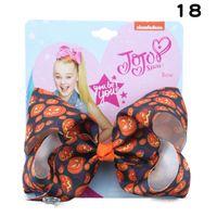 Halloween jojo siwa ragazze fermagli per capelli cartoni animati fiocchi per bambini barrettes jojo siwa archi clip BB per bambini accessori per capelli per feste 5