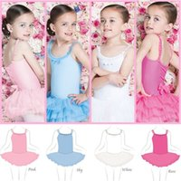 Children girls dancewear Dance skirts Students performance c...