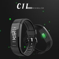 C11 Smart Band Bracelets Professionnel IP67 Imperméable À L'eau Sport Portable Appareils Smartwatch Pour IOS Android XIAOMI Band 2