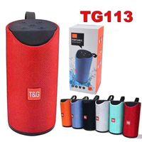 المتحدثون TG113 مكبر الصوت بلوتوث اللاسلكية مكبر للصوت يدوي نداء الملف ستيريو باس الدعم TF بطاقة USB مع حزمة