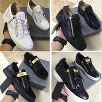 2019 HOT Casual Shoes Zipper Men and Women Low Top Flat Shoe...