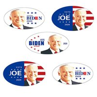 Trump autocollant de voiture Joe Biden Trump 2020 élection présidentielle américaine PVC pour ordinateur portable Graffiti Autocollants Party Favor OOA8104