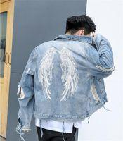 Ceketler Delik Uzun İnce Erkek Outerwears Nakış Yaka Boyun Moda Erkek Kısa Palto Fermuar Tüy Tasarımcı Mens