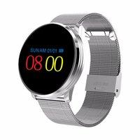 0,96 inteligente aptitud del reloj del perseguidor Hombres Mujeres M9 SmartWatch impermeable pulsera del ritmo cardíaco del deporte del monitor de correas para Android IOS