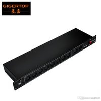 TP-D06 DMX 8 채널 출력 DMX 스플리터, 90V-240V 조명 제어, 15W DMX 스플리터 제어, 특별히 디자인 무대 조명