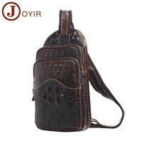 European and American trend new retro leather men' s bag...