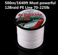 500 м / 1640 футов Самая мощная леска PE 12Braid Леска 70-225 фунтовПроверка для соленой воды Высококачественная производительность Высокое качество! Импорт из Японии