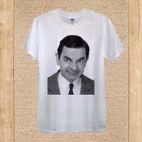 Camisetas 2019 de moda de manga corta para hombre Top Design British Funny Best Mr Bean Men Casual Algodón Camisetas Cuello redondo Camiseta