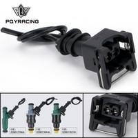 Injektor Dynamics EV1 Pigtailclip Connector Treibstoffinjektor-Anschlüsse für viele Autos EV1 Injector Plug PQY-FIC14