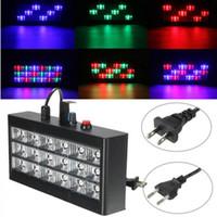 18 LED RGB свет проектора Строб для DJ Club Disco КТВ Stage Party Show США / ЕС Plug 20W