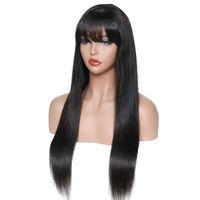 I miei capelli della regina merletto svizzero parrucche umane diritti di seta dei capelli brasiliani protezione del merletto svizzera con botto per le donne nere
