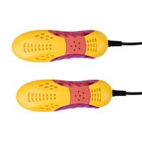 레이스 자동차 모양 Voilet 라이트 슈 건조기 풋 프로텍터 부팅 냄새 탈취제 제습 장치 신발 건조기 히터