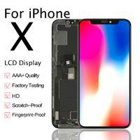 iPhone XアフターマーケットLCDディスプレイタッチスクリーンのデジタイザーの取り替えの取り替えの取り替えの取り替えがある