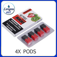 4X Pods 1. 0ml Large Capacity No Leak 4 Pod Each Pack Vape Ca...
