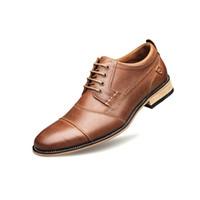 Высокое качество Мужская модельная обувь из натуральной кожи Бизнес Luxury Wedding Loafer Мужчины Квартиры Офис партии Формальные обувь обувь партии с коробкой
