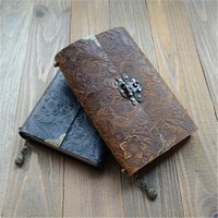 Аутентичные Howhide Книги в твердом переплете Книги Дневник Пароль с блокировкой Блокнот Натуральная Кожа Европейская Ретро Ноутбук