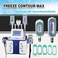 2020 MULTIFUNCION multifunción 360 grados Cryolipolysis Máquina Contacto Enfriamiento Cryolipolysis adelgazamiento de grasa congelación adelgazamiento rápido envío gratis