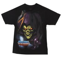 Camiseta Adulto con licencia Skeletor Evil de Masters of The Universe