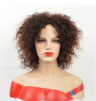 Fashion & New 12inch Short Wig Afro Kinky Curly Wigs for Wom...