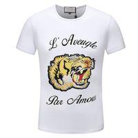 7cec9881a74c New Arrival. 2019 Summer T Shirts For Men Tops Tiger Head Letter T Shirt  Mens Clothing Short Sleeve Tshirt Women Tops
