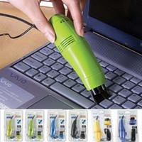 مكنسة كهربائية USB مصغرة مصممة لتنظيف فرشاة تنظيف الغبار كيت الكمبيوتر لوحة المفاتيح استخدام أعلى جودة وصول جديد