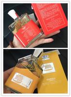 Creed Perfume Creed Viking Eau De Parfum 120ML per gli uomini Profumo con lunga durata Fragranza Spary Incenso liquido per DHL.