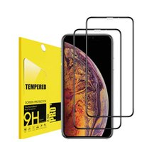 For iPhone X Xr Xs Max 8 7 6S Plus Tempered Glass Screen Pro...