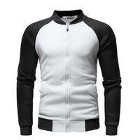 Sweats à capuche pour hommes Sweatshirts Negizber 2021 Automne et hiver Sweat-shirt Cotton Plus Velvet Velvet Col V à manches longues