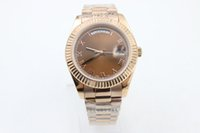 good 228235 watch man automatic rose gold stainless steel wa...