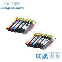 Lot de 2 cartouches d'encre 33X T3361 T3361 T3362 T3363 T3364 Compatible pour Epson XP-530 XP-630 XP-830 XP-635 XP-540 XP-640 XP-645