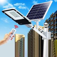 200W LED Solar Street Light Outdoor LED Solarlicht Wasserdicht mit Fernbedienung 200W Solar LED Spotlight Gartenlicht