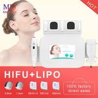 новый 2 в 1 LipoSonix Hifu лица машины для потери веса подтяжки кожи лица Фитрель для похудения и удаления морщин