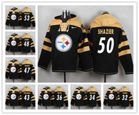 78897d255 Pittsburgh Sweatshirt Steelers Crucial Catch Performance Pullover football  Hoodie 26 Bell Jersey 84 Antonio Brown 30 Conner