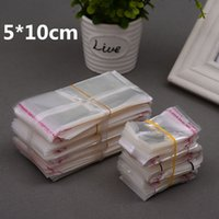 1000pcs 5*10cm Clear Transparent Self Adhesive Resealable Op...